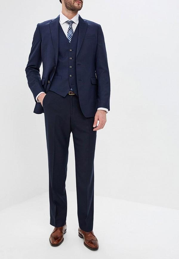 Фото 2 - Брюки Marks & Spencer синего цвета