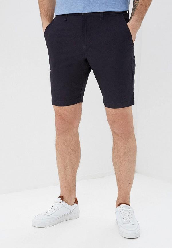 мужские повседневные шорты marks & spencer, синие
