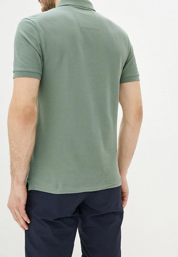 Фото 3 - Поло Marks & Spencer зеленого цвета