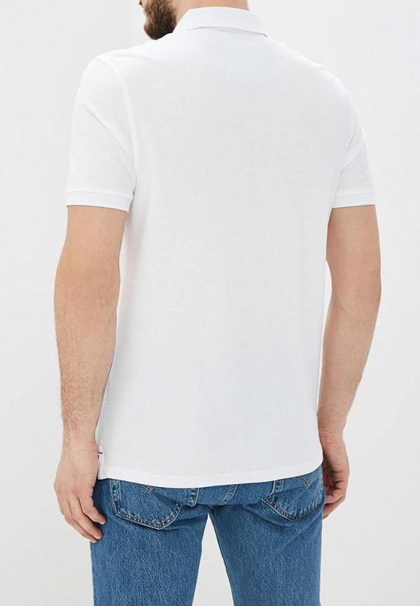 Фото 3 - Поло Marks & Spencer белого цвета