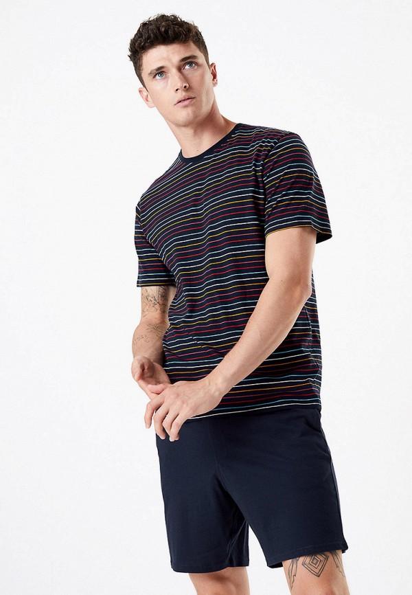 мужские шорты marks & spencer, синие