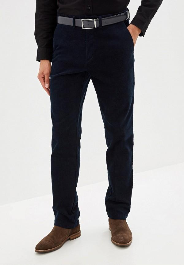 мужские повседневные брюки marks & spencer, синие