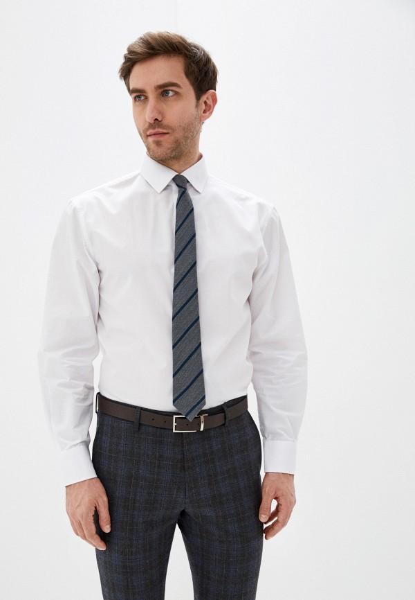 мужская рубашка с длинным рукавом marks & spencer, белая