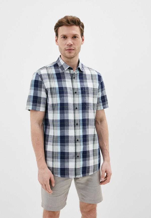 мужская рубашка marks & spencer, серая