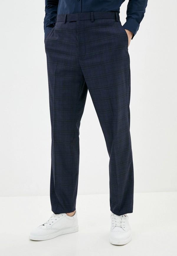 мужские классические брюки marks & spencer, синие