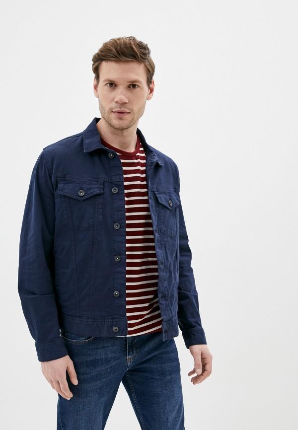 мужская куртка marks & spencer, синяя
