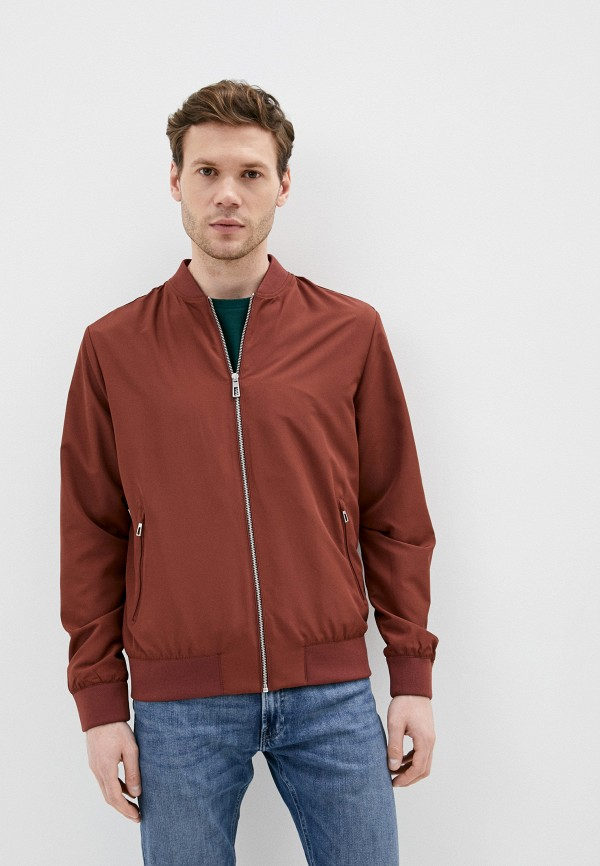 мужская куртка marks & spencer, коричневая