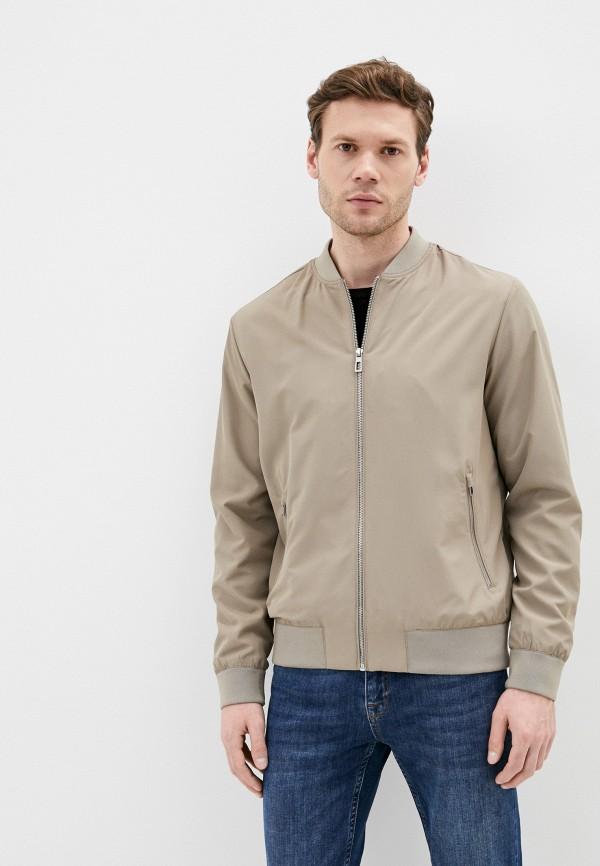 мужская куртка marks & spencer, бежевая