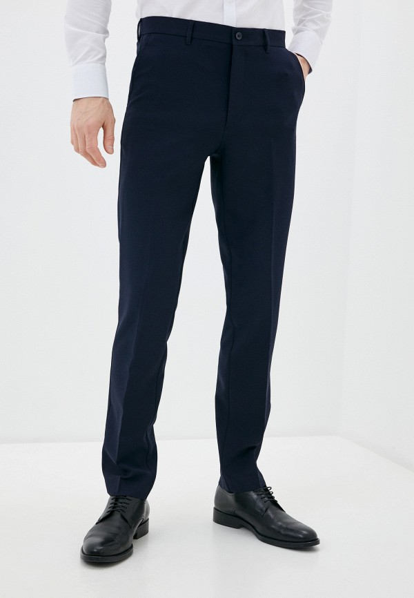 мужские брюки marks & spencer, синие