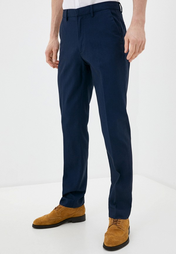 мужские брюки чинос marks & spencer, синие