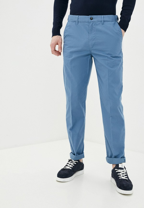 мужские брюки marks & spencer, голубые