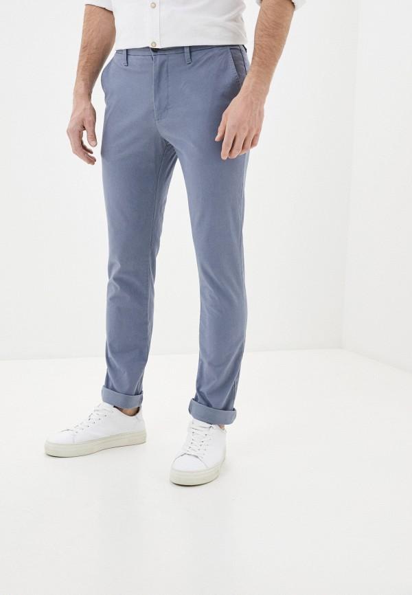 мужские брюки чинос marks & spencer, голубые