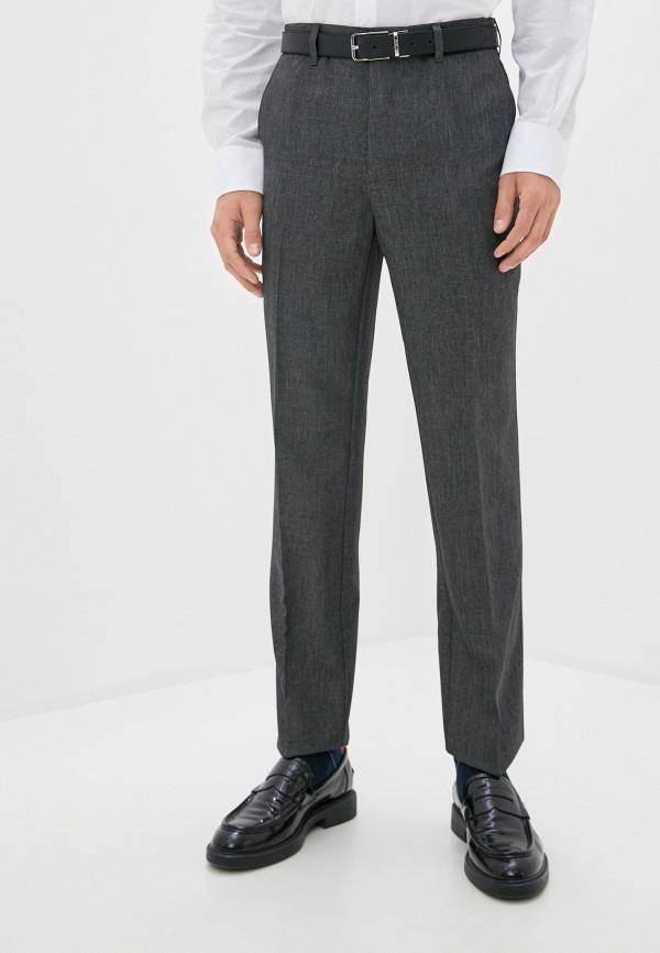 мужские классические брюки marks & spencer, серые