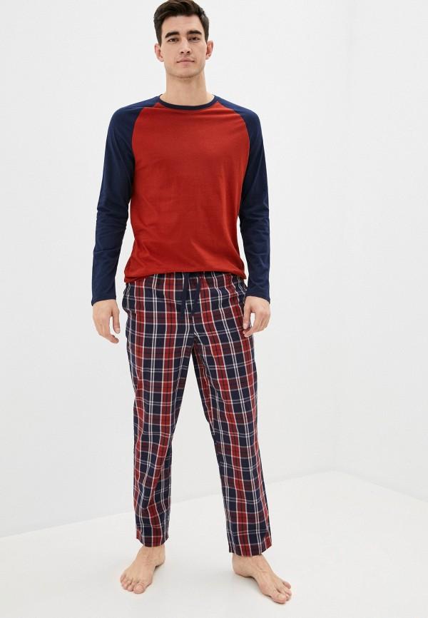 мужская пижама marks & spencer, разноцветная