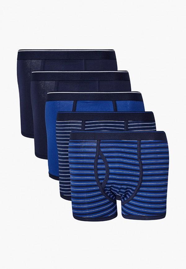 мужские трусы-боксеры marks & spencer, синие