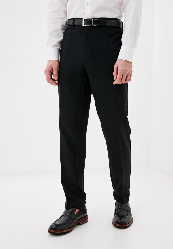 мужские классические брюки marks & spencer, черные