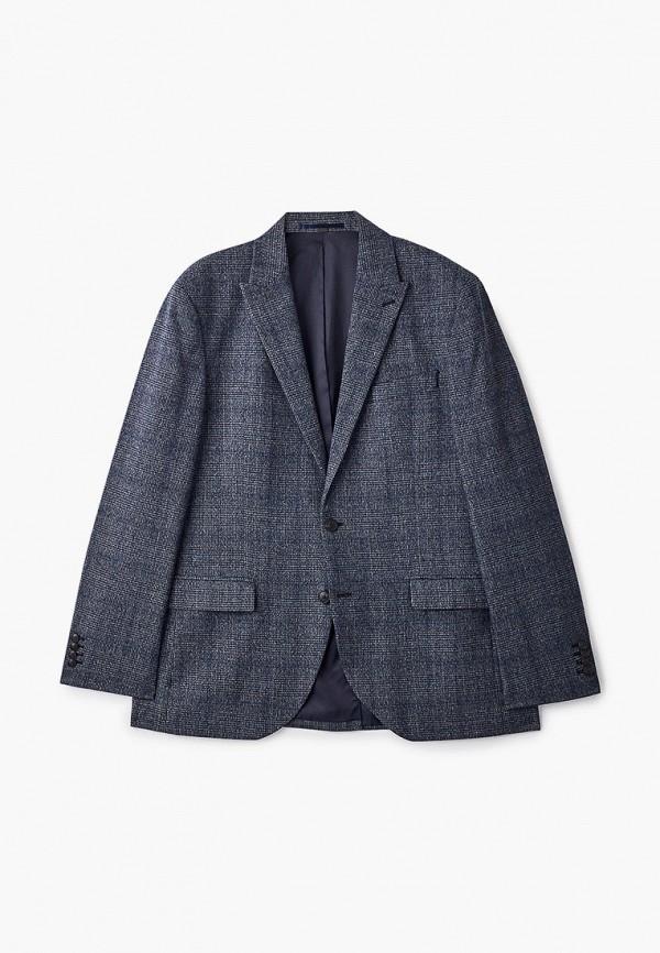 мужской пиджак marks & spencer, серый
