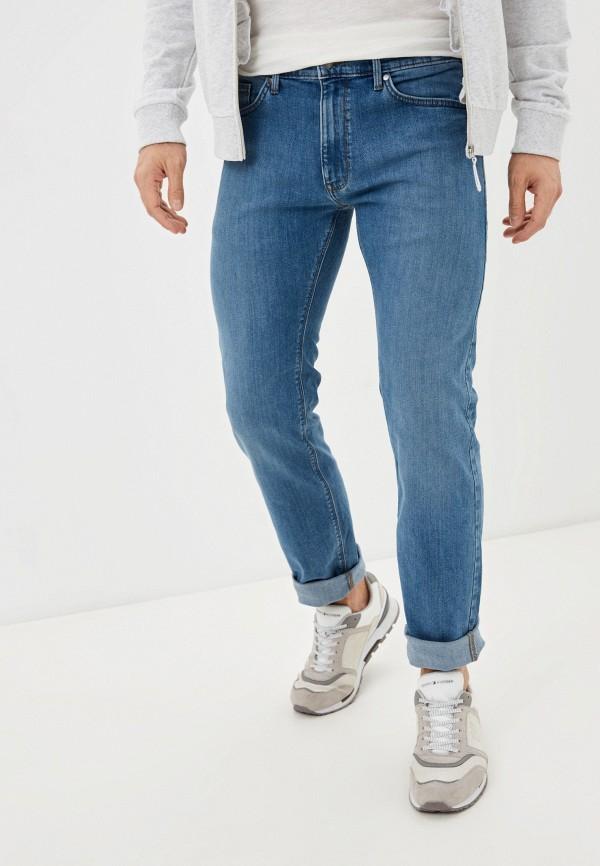 мужские прямые джинсы marks & spencer, синие