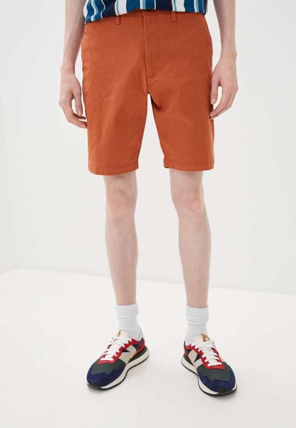 мужские повседневные шорты marks & spencer, коричневые