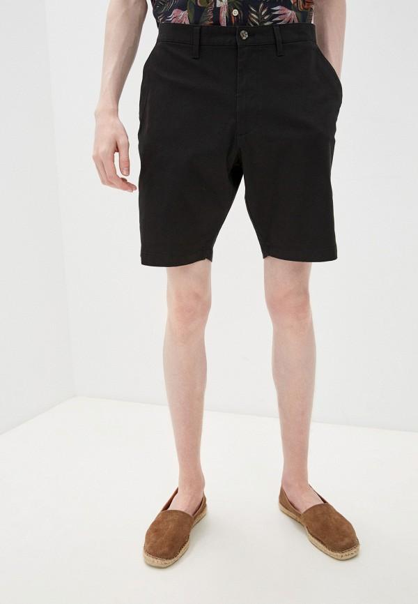 мужские повседневные шорты marks & spencer, черные
