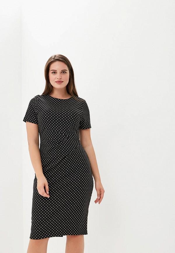 женское платье-футляр marks & spencer, черное