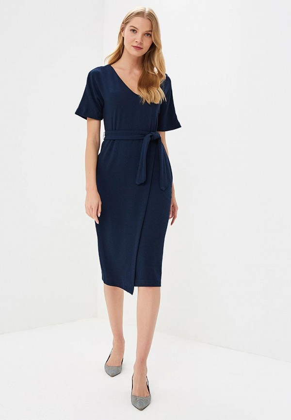 Купить Платье Marks & Spencer, MA178EWBKVY9, синий, Весна-лето 2018