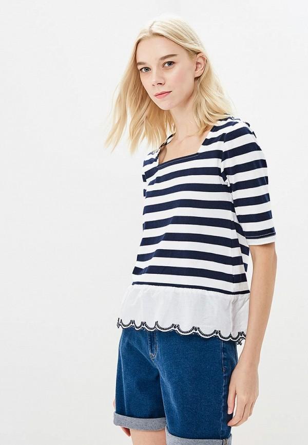женская футболка marks & spencer, белая
