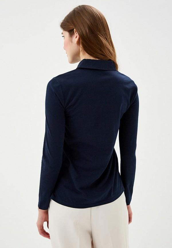 Фото 3 - Блузу Marks & Spencer синего цвета