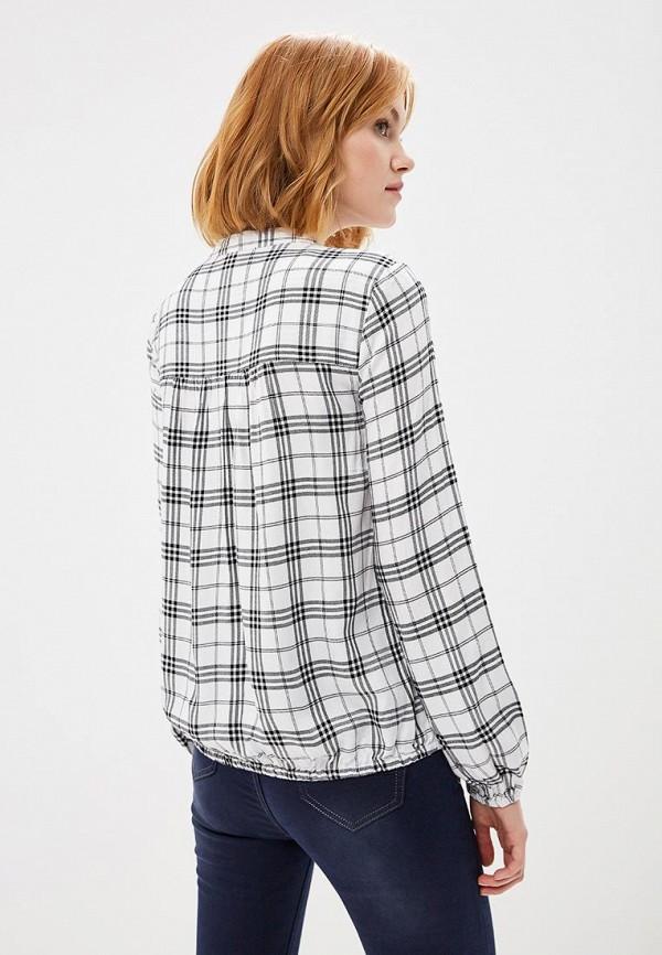 Фото 3 - Блузу Marks & Spencer белого цвета