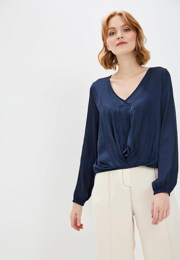 Купить Блуза Marks & Spencer, ma178ewclyo6, синий, Осень-зима 2018/2019