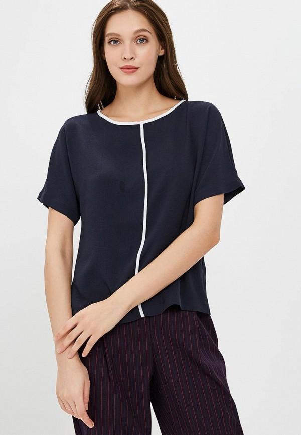 Купить Блуза Marks & Spencer, ma178ewclyr4, синий, Осень-зима 2018/2019
