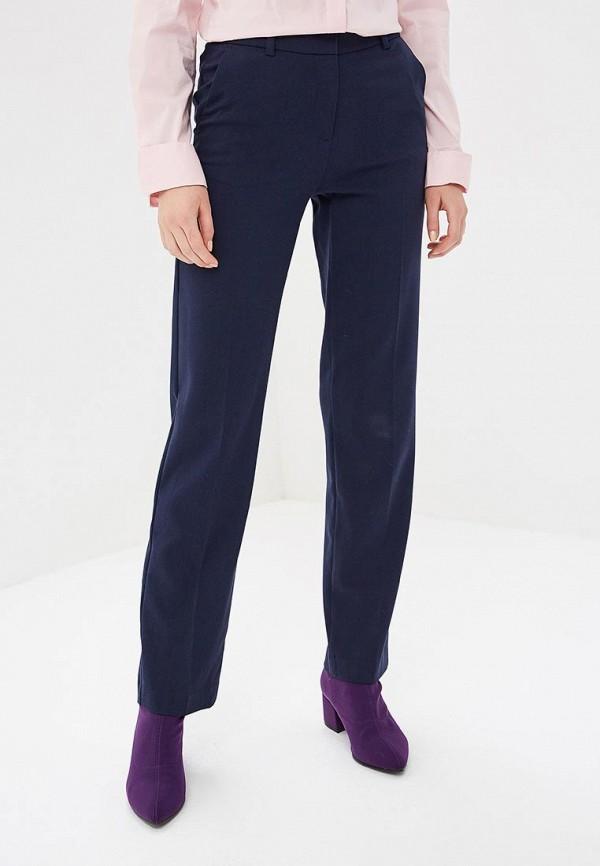женские классические брюки marks & spencer, синие