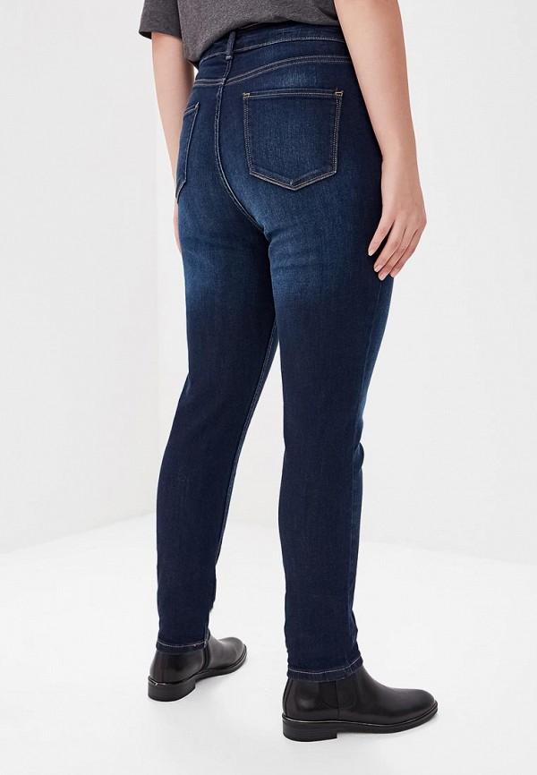 Фото 3 - Джинсы Marks & Spencer синего цвета
