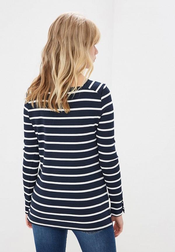 Фото 3 - Лонгслив Marks & Spencer синего цвета
