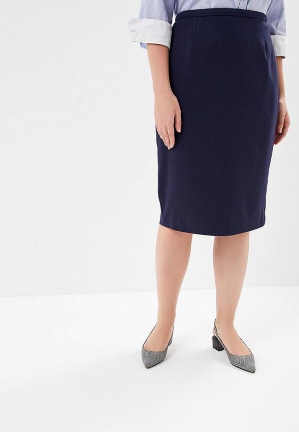 Фото - Юбку Marks & Spencer синего цвета