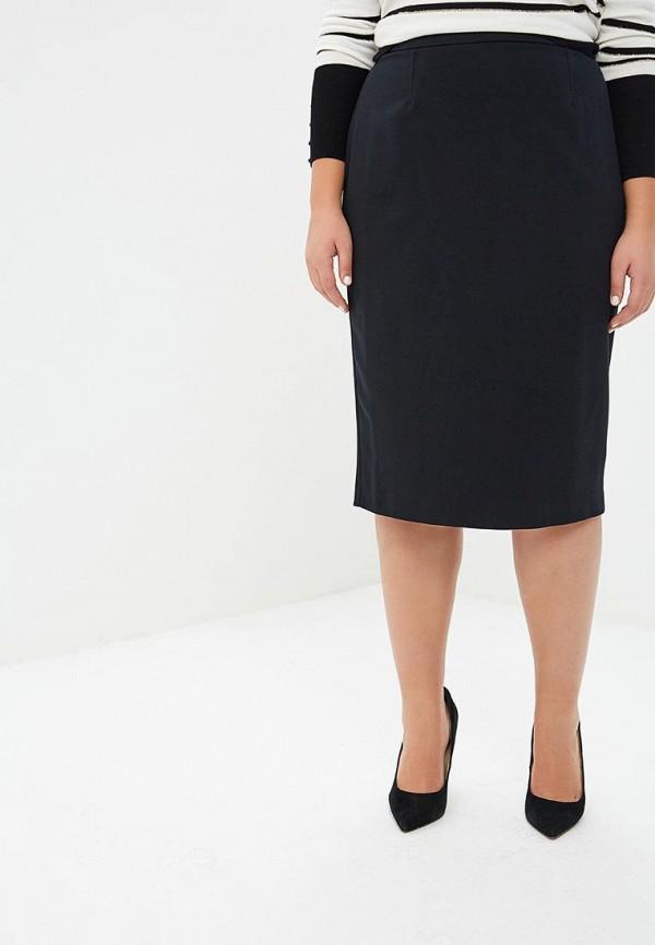 женская прямые юбка marks & spencer, черная