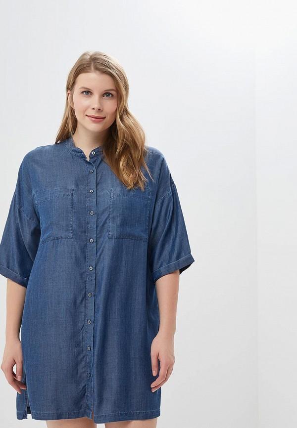 женское платье для беременных marks & spencer, синее