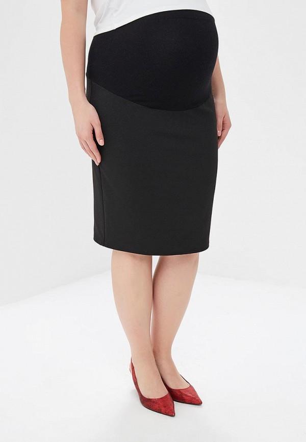 женская юбка для беременных marks & spencer, черная