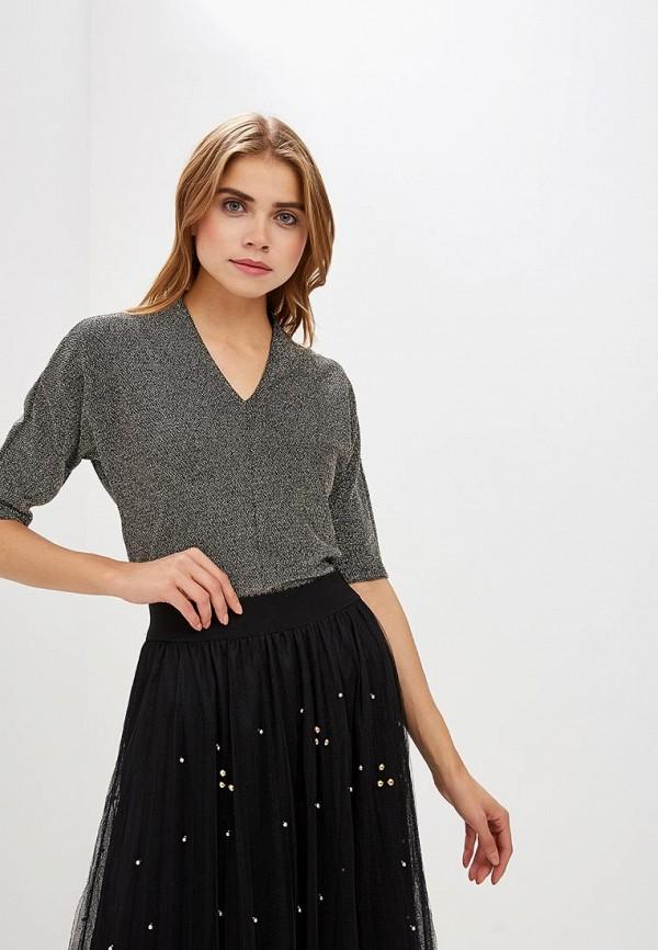 женский пуловер marks & spencer, золотой