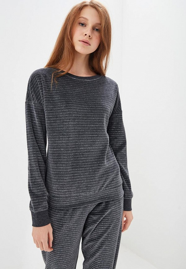женский свитшот marks & spencer, серый