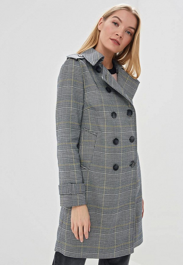 женское пальто marks & spencer, серое