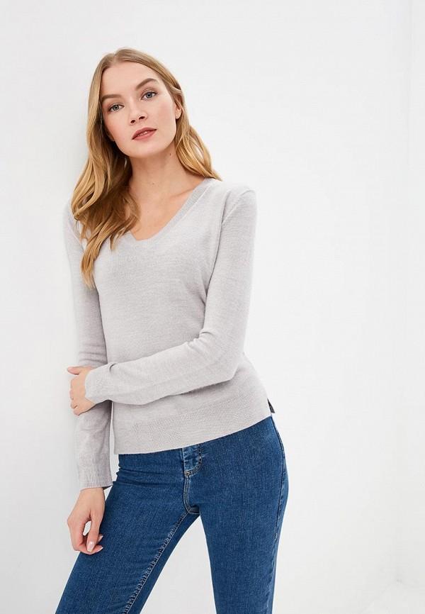 женский пуловер marks & spencer, серый