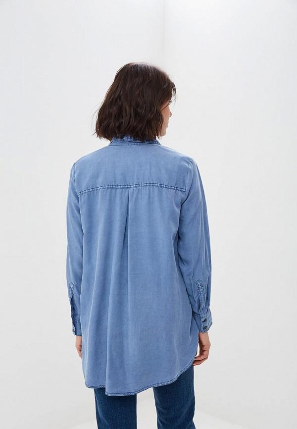 Фото 3 - Тунику Marks & Spencer синего цвета