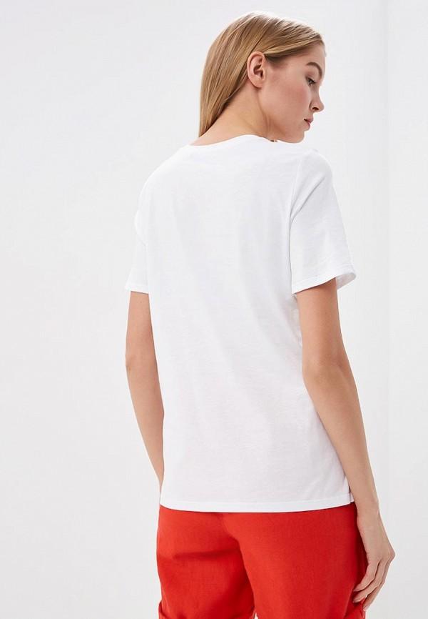 Фото 3 - Футболку Marks & Spencer белого цвета