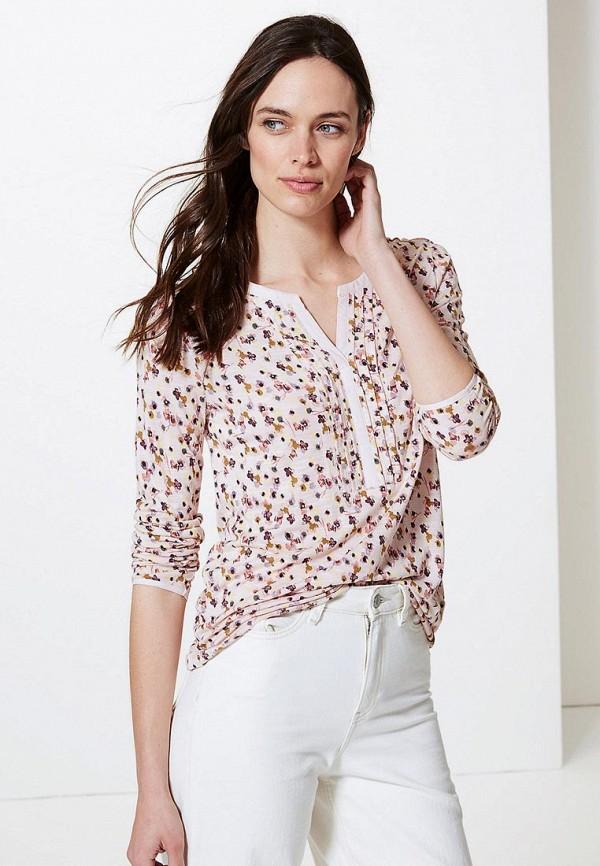 Фото - Блузу Marks & Spencer белого цвета