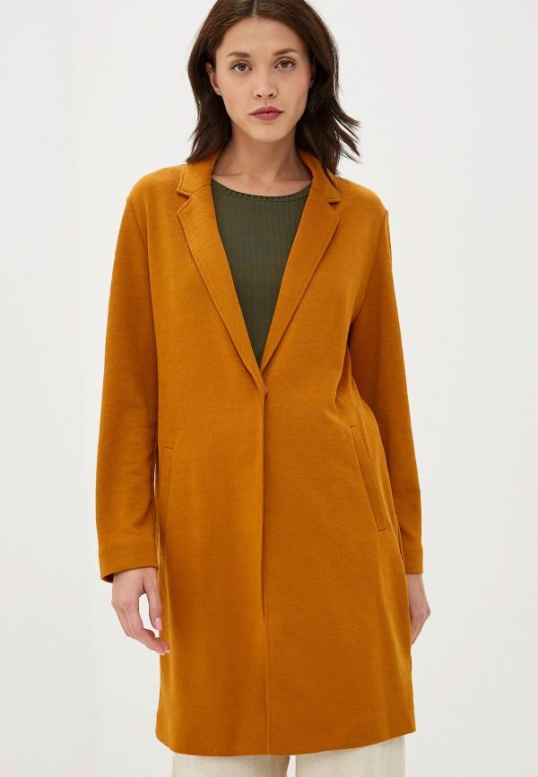 женское пальто marks & spencer, коричневое