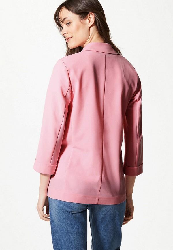 Фото 3 - Пиджак Marks & Spencer розового цвета