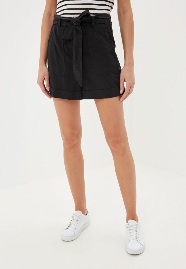 женские шорты marks & spencer, черные