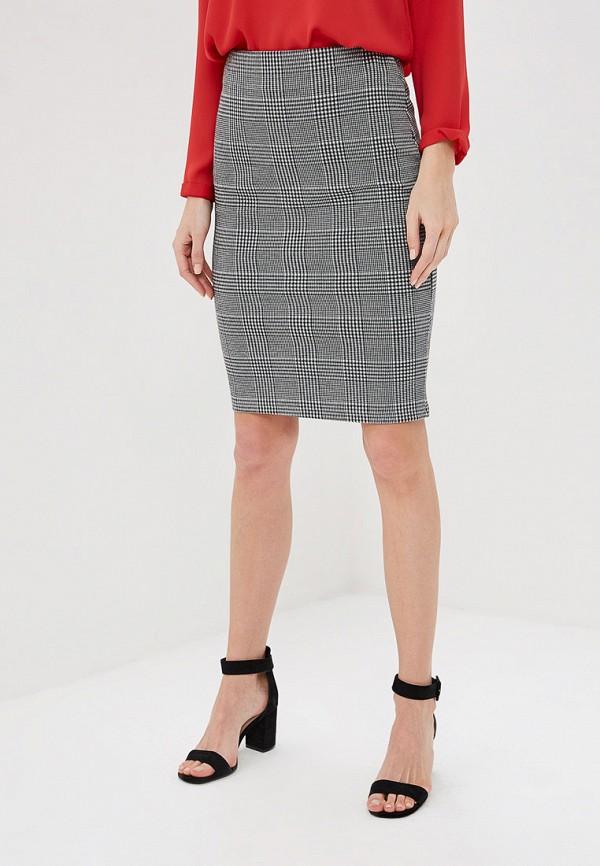 женская прямые юбка marks & spencer, серая