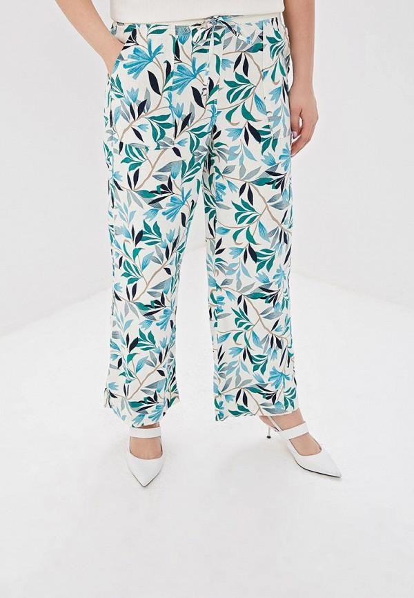женские повседневные брюки marks & spencer, белые